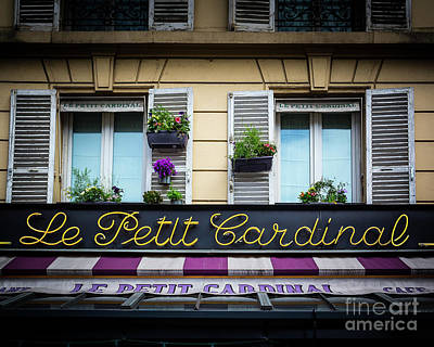 Photograph - Paris Neon by Perry Webster