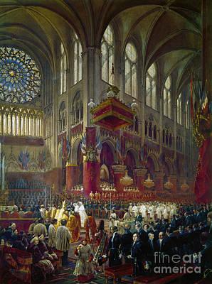 Clergy Photograph - Paris: Notre Dame, 1841 by Granger