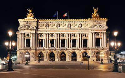 Photograph - Paris Opera by Songquan Deng