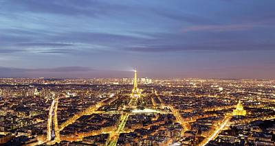 City Photograph - Paris Overlook by Ca Photography