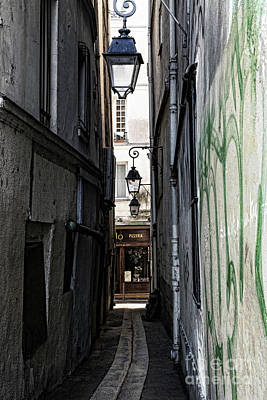 Photograph - Paris Passage by Elena Nosyreva
