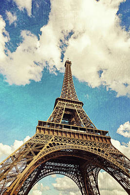 Photograph - Paris Photography - Eiffel Tower by Melanie Alexandra Price