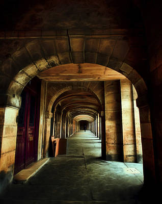 Paris Skyline Royalty-Free and Rights-Managed Images - Paris Place Des Vosges by Evie Carrier