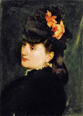 Duran Duran Painting - Paris Portrait Of Madame Ernest Feydeau by Charles