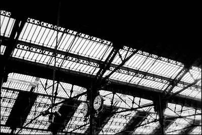 Keith Richards - Paris Railway Station by Lazh Lo