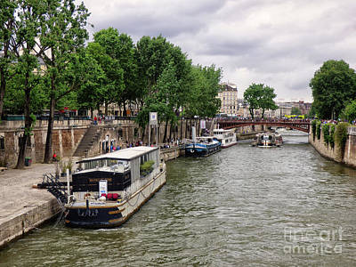 Photograph - Paris River Seine by Lynn Bolt