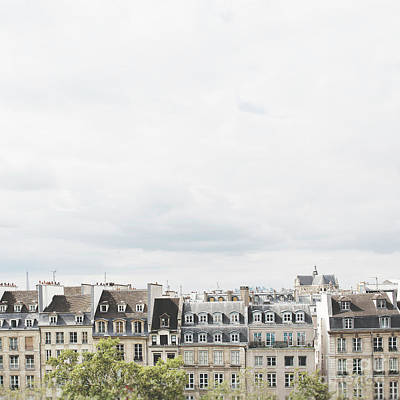 Photograph - Paris Rooftop Square Photo by Ivy Ho