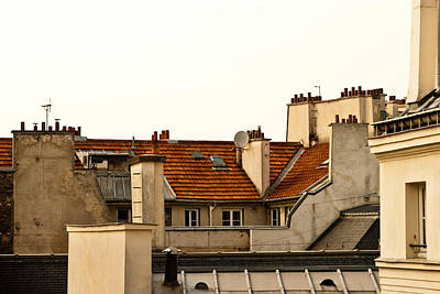 Photograph - Paris Rooftops by Jani Freimann