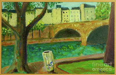 Art Print featuring the painting Paris Rubbish by Paul McKey