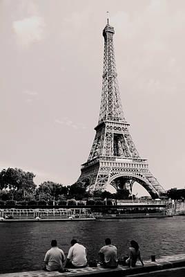 Paris Art Print by Sarah Jean Sylvester