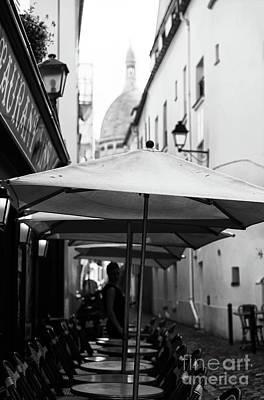 Sacre Coeur Photograph - Paris Scene by Jasna Buncic