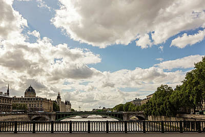 Photograph - Paris Skies by Melanie Alexandra Price