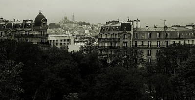 Paris Skyline Royalty-Free and Rights-Managed Images - Paris Skyline by Alison Stevenson