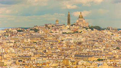 Paris Skyline Royalty-Free and Rights-Managed Images - Paris Skyline by Patrick Kain