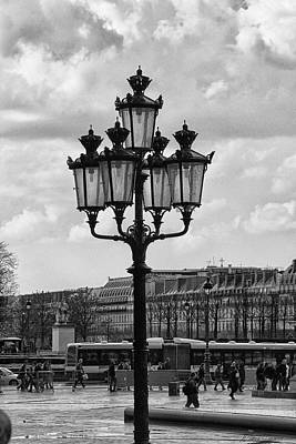 Photograph - Paris Street Lamps by Diana Haronis