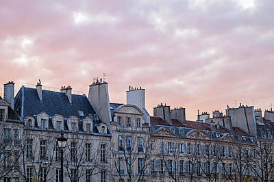 Photograph - Paris Sunset by Melanie Alexandra Price