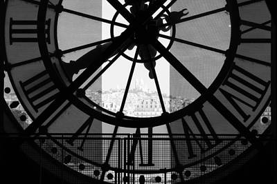 Photograph - Paris Time by Mary-Lee Sanders