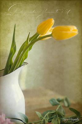 Photograph - Paris Tulips by Nancy Morgantini