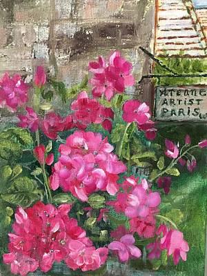 Painting - Paris, Wisconsin by Sharon Schultz