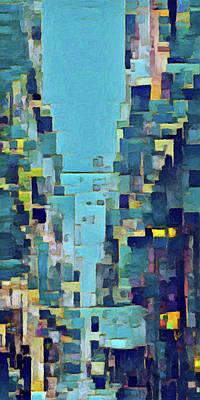 Digital Art - Parisian 6 by David Hansen