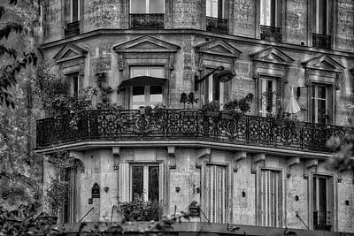 Photograph - Parisian Apartment by Ingrid Dendievel