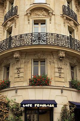 Photograph - Parisian Building Facades - 3 by Hany J