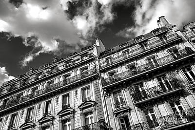 Photograph - Parisian Buildings by Olivier Le Queinec