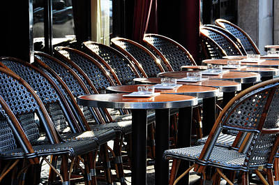 Parisian Cafe Terrace Art Print