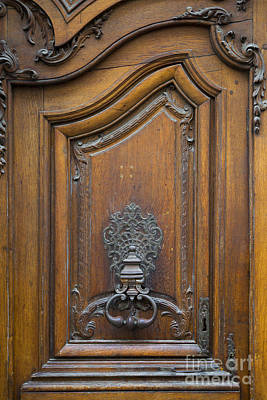 Photograph - Parisian Door Knocker by Brian Jannsen