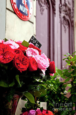 Photograph - Parisian Flowers by Brian Jannsen