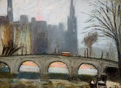 Print featuring the painting Parisian Gray by Gary Coleman