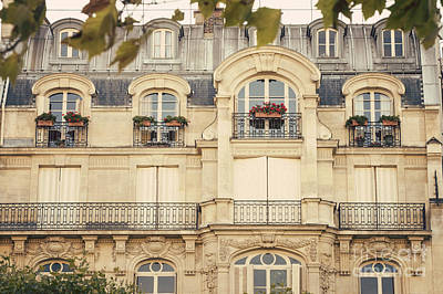 Photograph - Parisian Home by Juli Scalzi