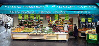 Photograph - Parisian Market by Lawrence Boothby