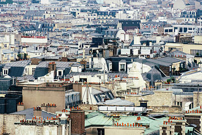Photograph - Parisian Rooftops by Dutourdumonde Photography