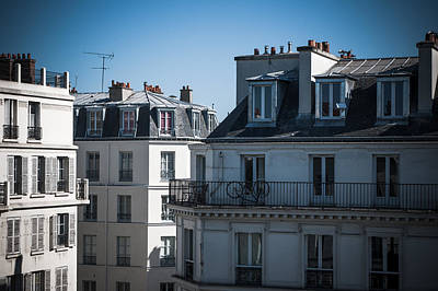 Photograph - Parisian Rooftops In The Morning by Lenny Carter