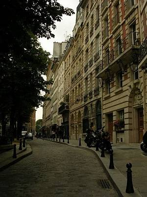 Photograph - Parisian Side Street by Christin Brodie