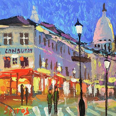 Painting - Parisian Street by Dmitry Spiros