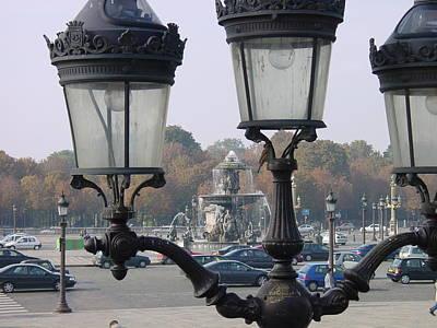 Parisian Street Lanterns Original