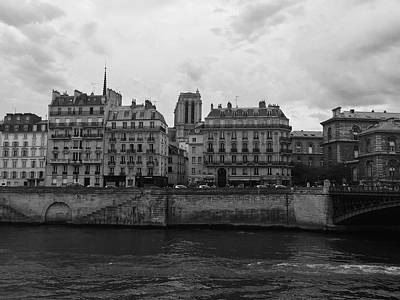 Photograph - Paris Suburbs On The Seine by Marty Cobcroft