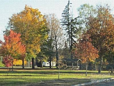 Photograph - Park At Mineral Point by Kathie Chicoine
