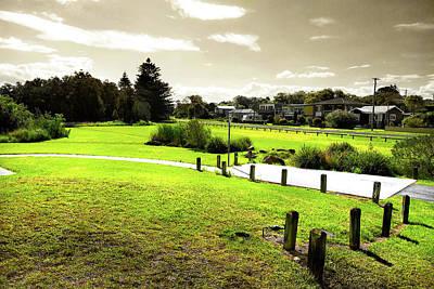 Photograph - Park At The End Of Sheepwash Creek by Miroslava Jurcik
