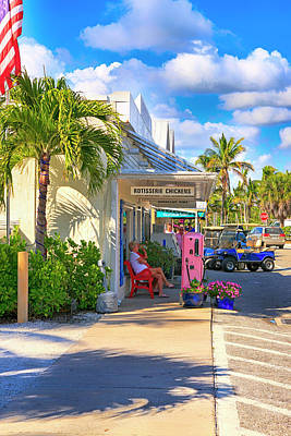 Photograph - Park Ave, Boca Grande Fl by Chris Smith