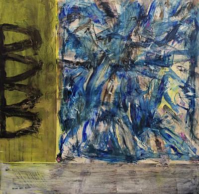 Larry David Painting - Park Ave Orgasm by Antonio Ortiz