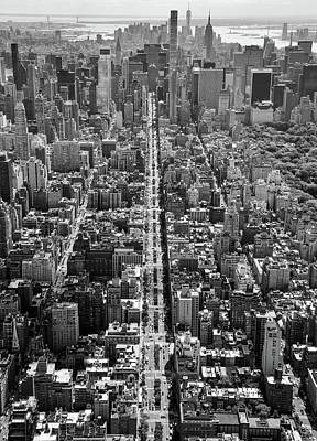 Photograph - Park Avenue Aerial by Rand