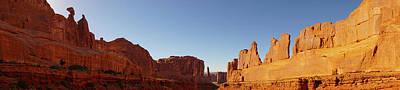 Photograph - Park Avenue Arches National Park Utah Panorama by Lawrence S Richardson Jr