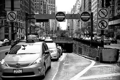 Photograph - Park Avenue Tunnel by John Rizzuto