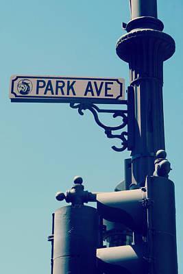 Digital Art - Park Avenue by Valerie Reeves