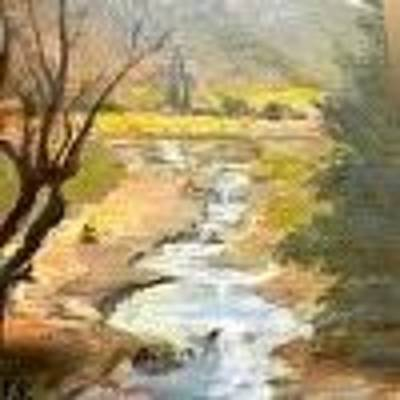 Painting - Park Creek by Joyce Snyder