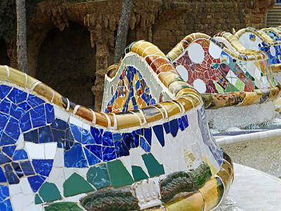 Photograph - Park Guell by Bruce
