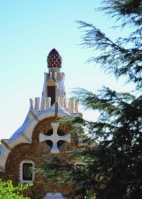 Photograph - Park Guell by Corinne Rhode